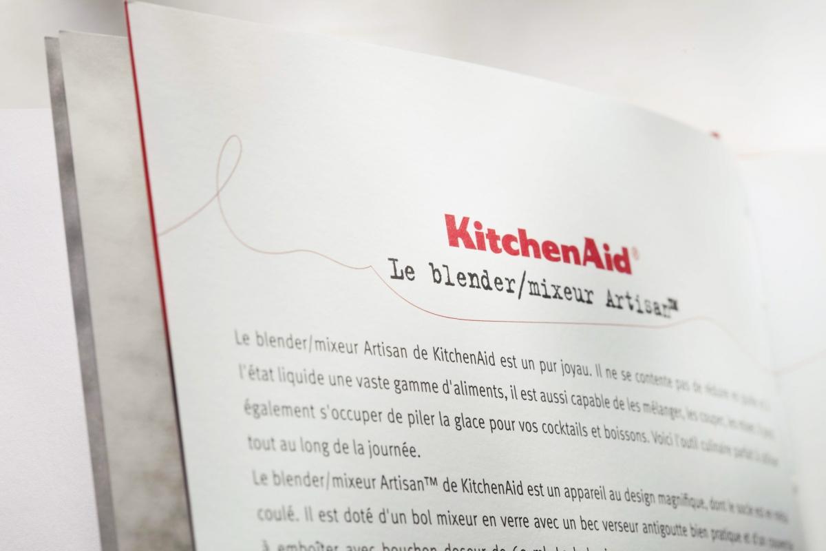 recettes kitchenaid blender. Black Bedroom Furniture Sets. Home Design Ideas