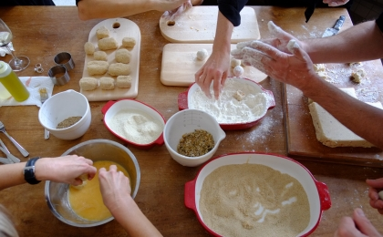workshop, koken, teambuilding, familie, vrienden